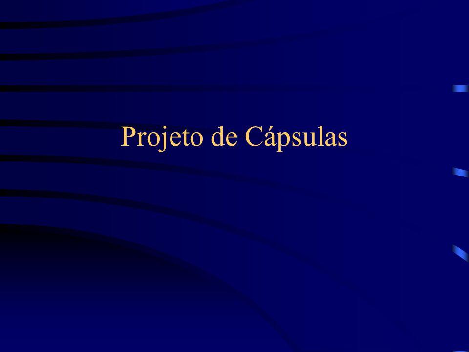 Projeto de Cápsulas