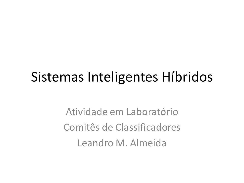 Sistemas Inteligentes Híbridos Atividade em Laboratório Comitês de Classificadores Leandro M. Almeida