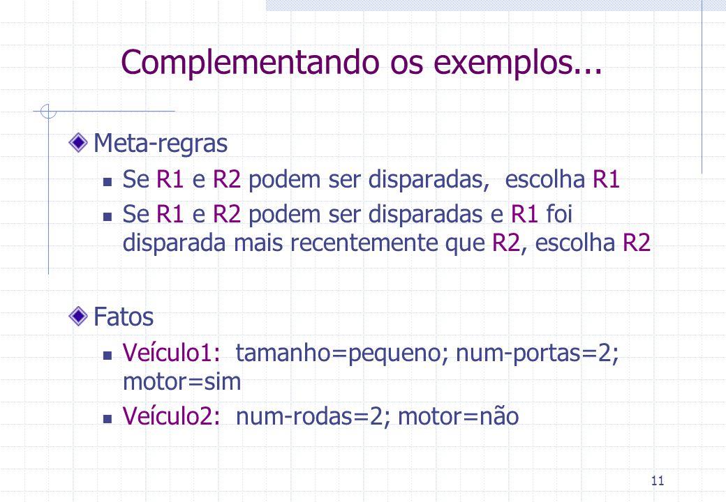 11 Complementando os exemplos...