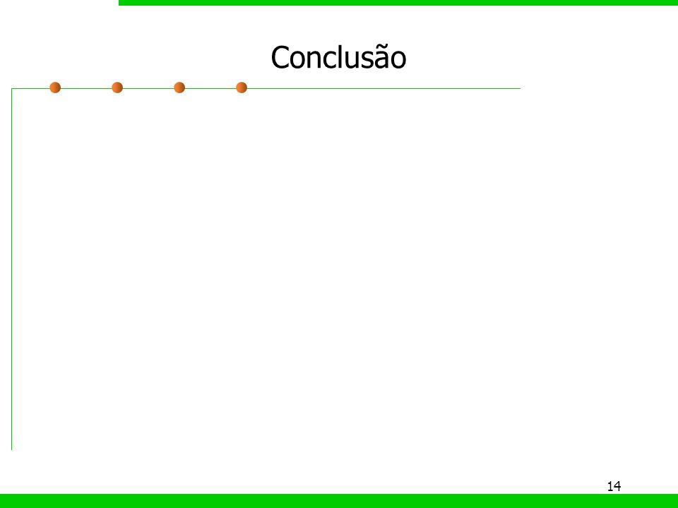 14 Conclusão