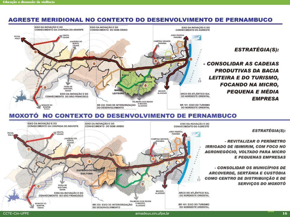 Educação e dissuasão da violência CCTE-Cin-UFPEamadeus.cin.ufpe.br16