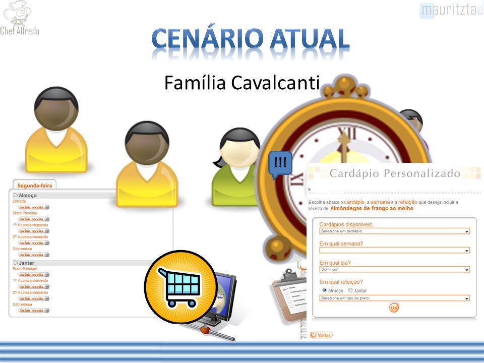 Família Cavalcanti - Filha - 10 Anos - Estuda pela manhã - Faz todas as refeições em casa -Alérgica a Peixe !!!