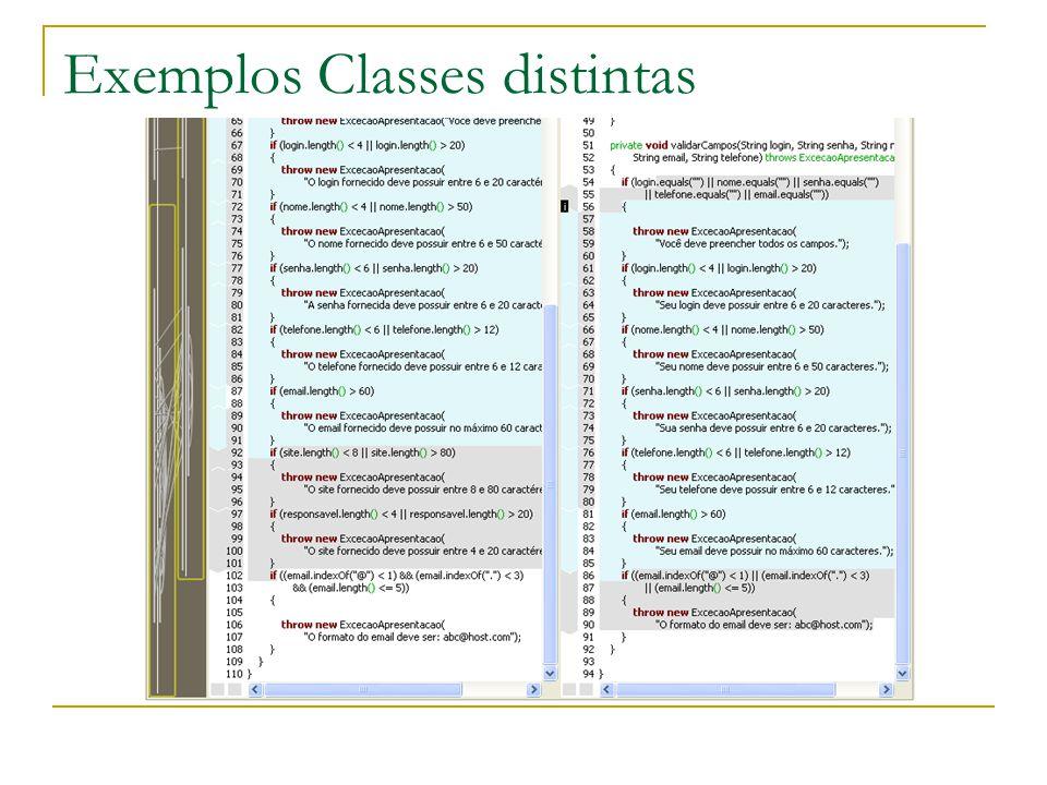 Exemplos Mesma classe