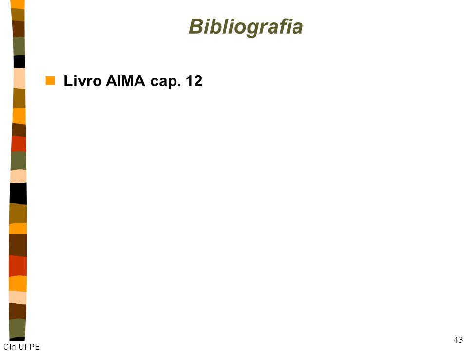 CIn-UFPE 43 Bibliografia nLivro AIMA cap. 12
