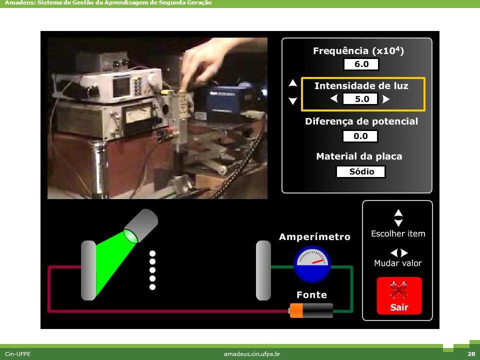 Amadeus: Sistema de Gestão da Aprendizagem de Segunda Geração Cin-UFPEamadeus.cin.ufpe.br28