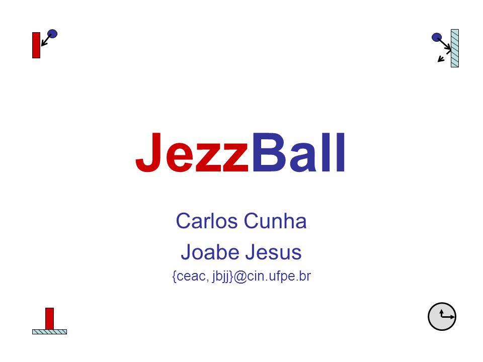 JezzBall Carlos Cunha Joabe Jesus {ceac, jbjj}@cin.ufpe.br
