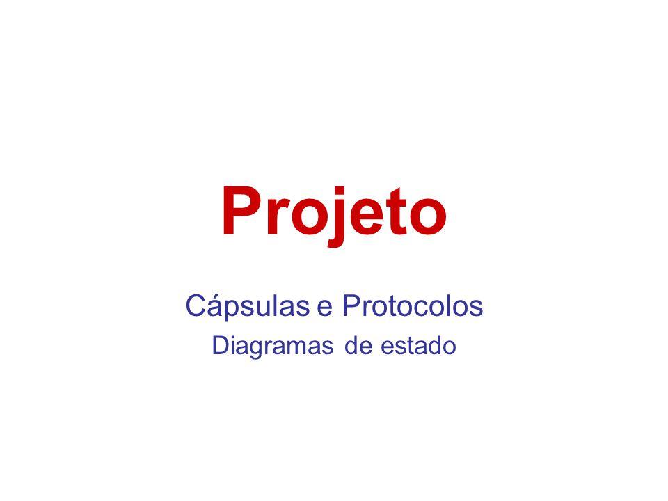 Projeto Cápsulas e Protocolos Diagramas de estado