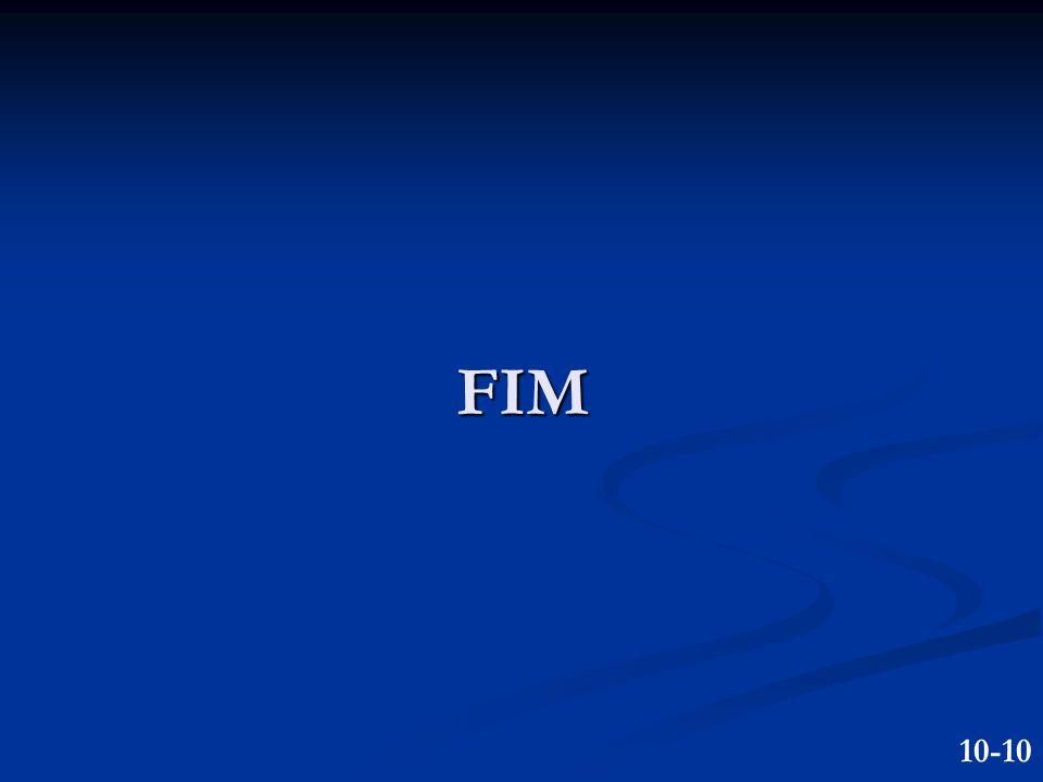 FIM 10-10