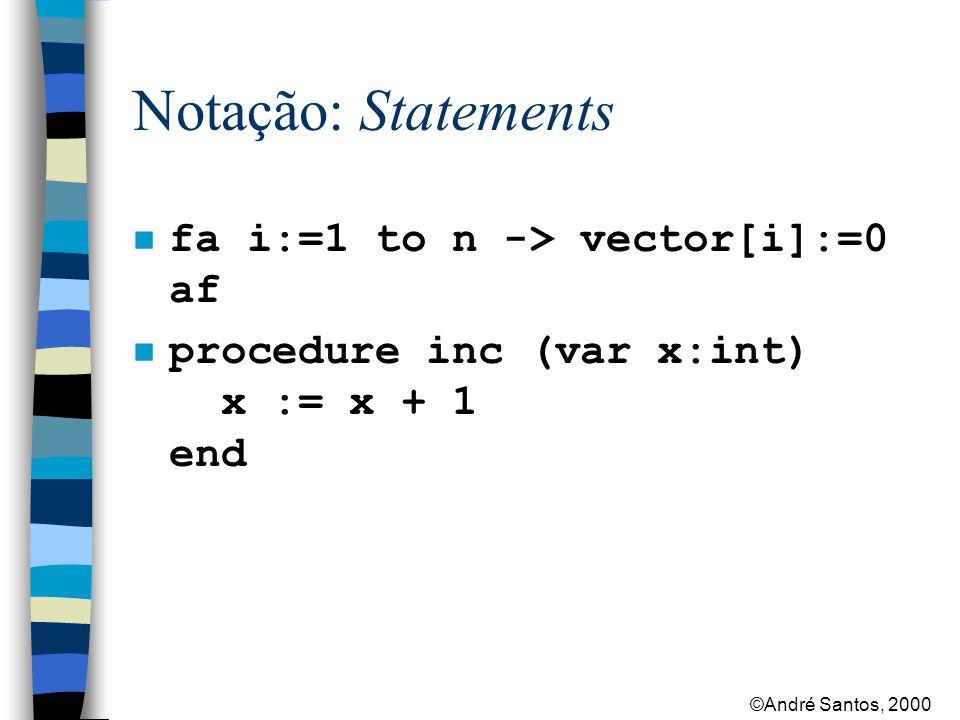 ©André Santos, 2000 Notação: Concorrência co S1 //...