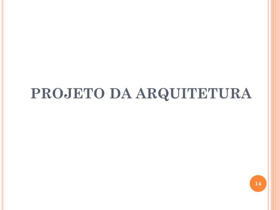 PROJETO DA ARQUITETURA 14