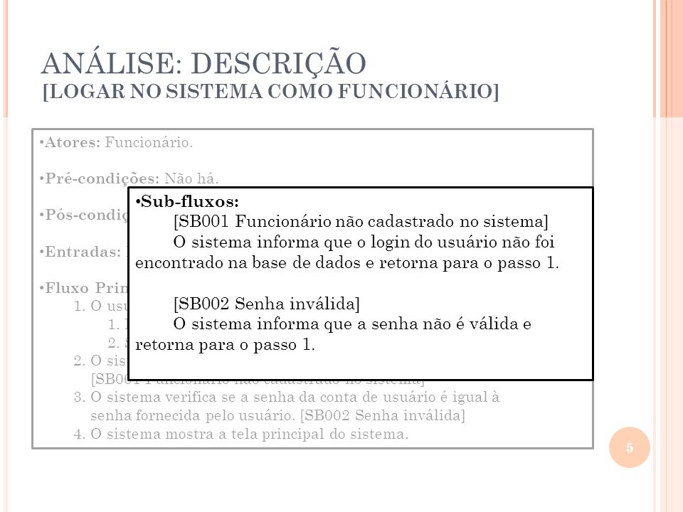A RQUITETURA : T ABELA DE M APEAMENTO 16