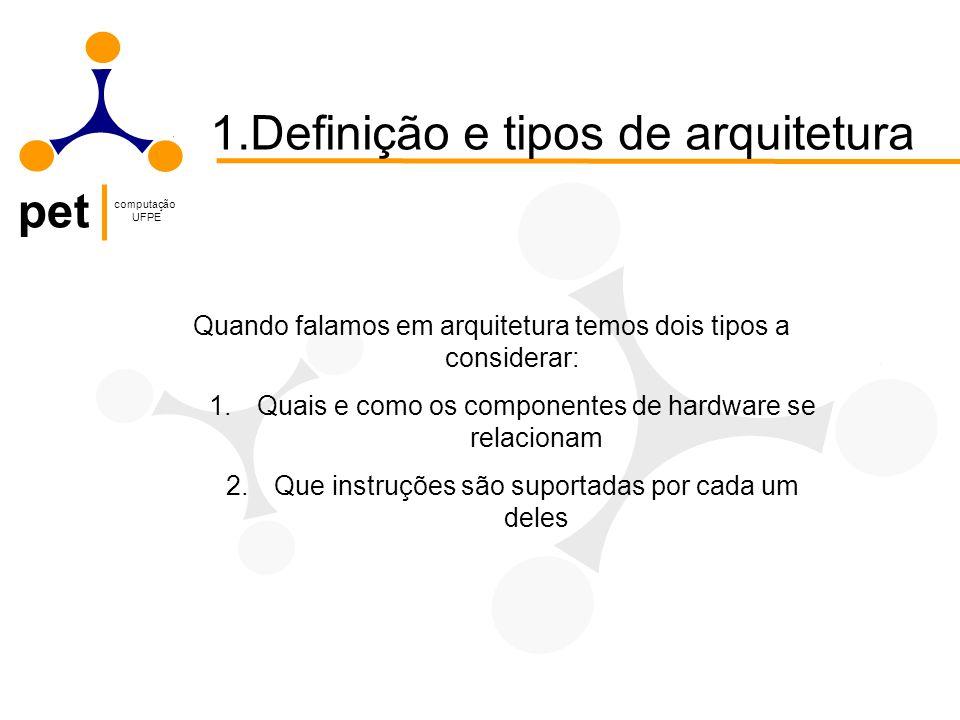 pet computação UFPE Exemplo Faça 10 – 5 utilizando complemento a 2.