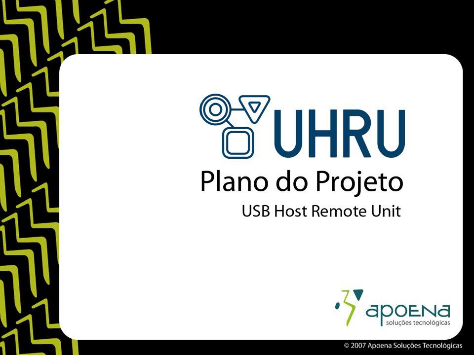 Primeiro Release Objetivos –Definir a arquitetura do Host –Modelar a pilha USB –Implementar o driver HIC –Aplicação do teclado para celular –Desenvolver o módulo de comunicação