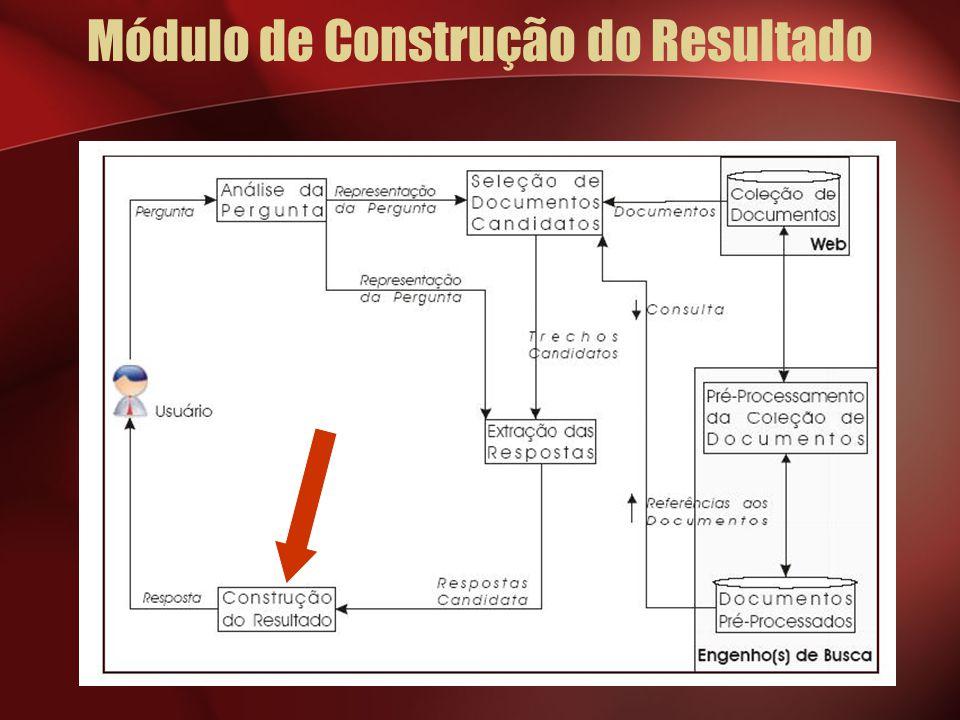 Módulo de Construção do Resultado
