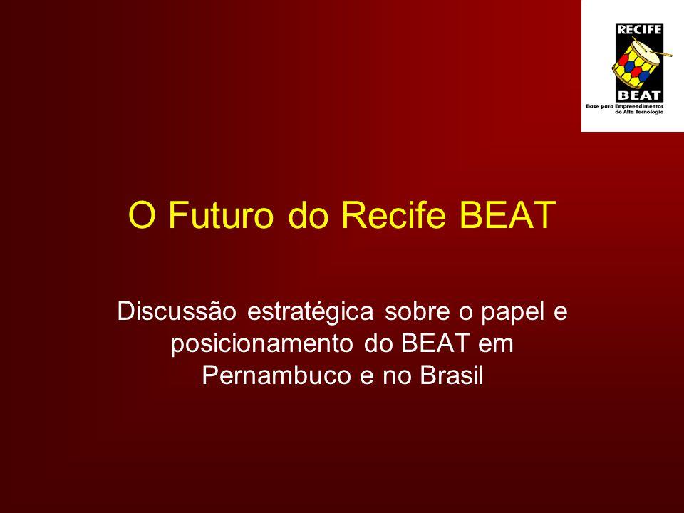 O Futuro do Recife BEAT Discussão estratégica sobre o papel e posicionamento do BEAT em Pernambuco e no Brasil