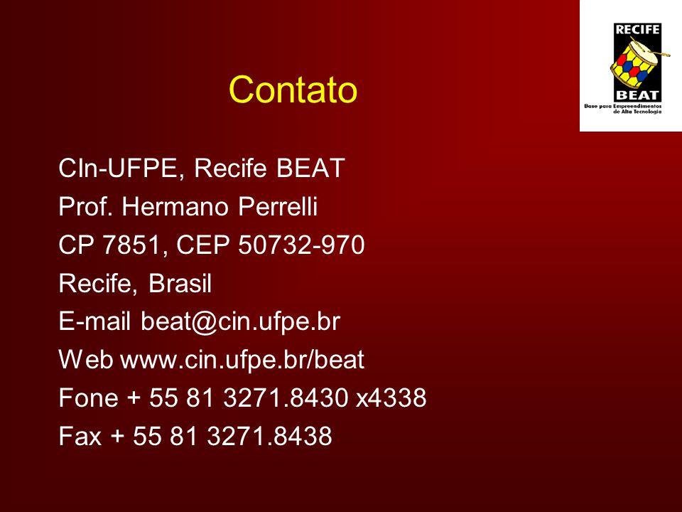 Contato CIn-UFPE, Recife BEAT Prof.
