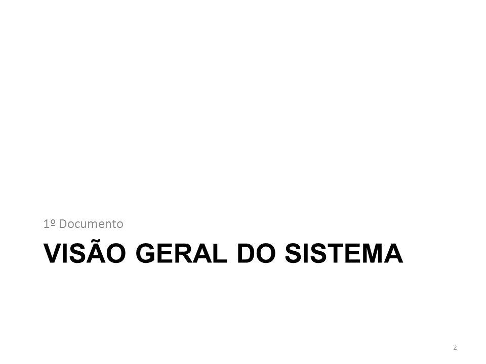 VISÃO GERAL DO SISTEMA 1º Documento 2