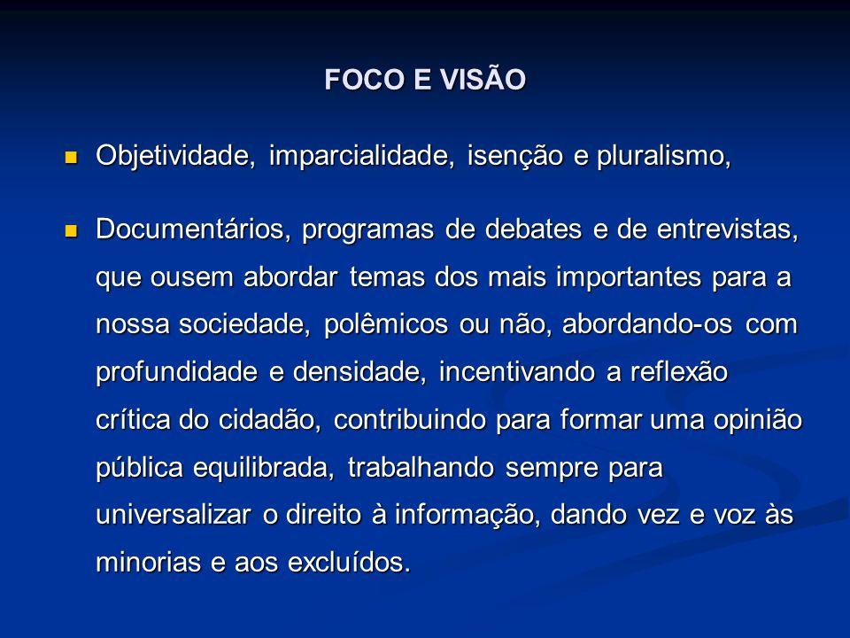 INFORMAÇÃO OBJETIVA E PRECISA Papel do jornalista e do comunicador