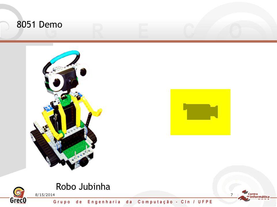 8/15/20147 8051 Demo Robo Jubinha