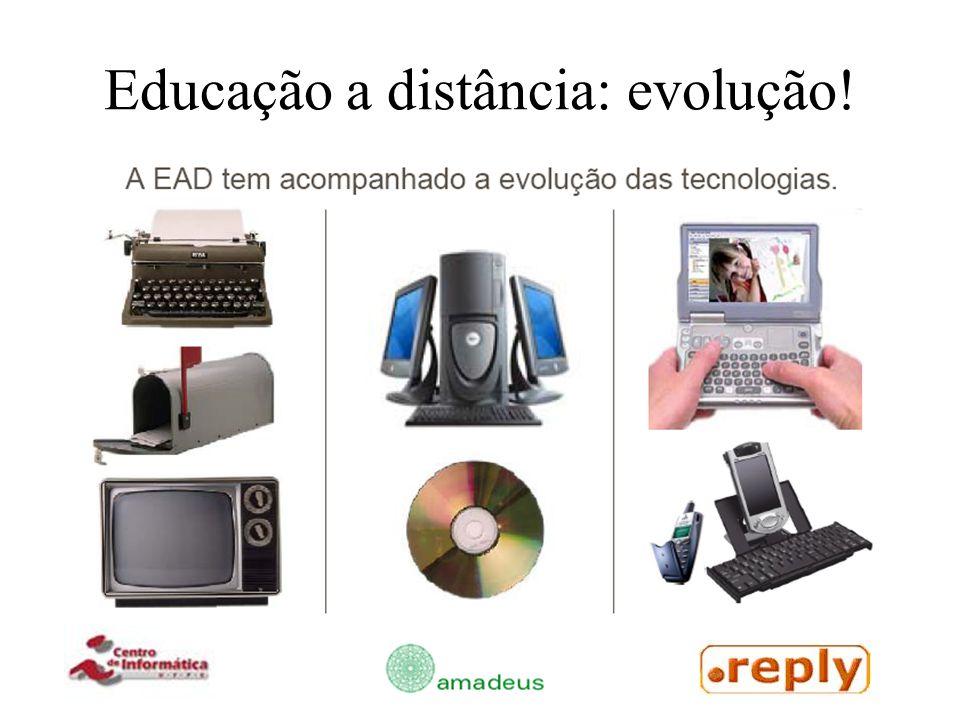 Educação a distância: evolução!
