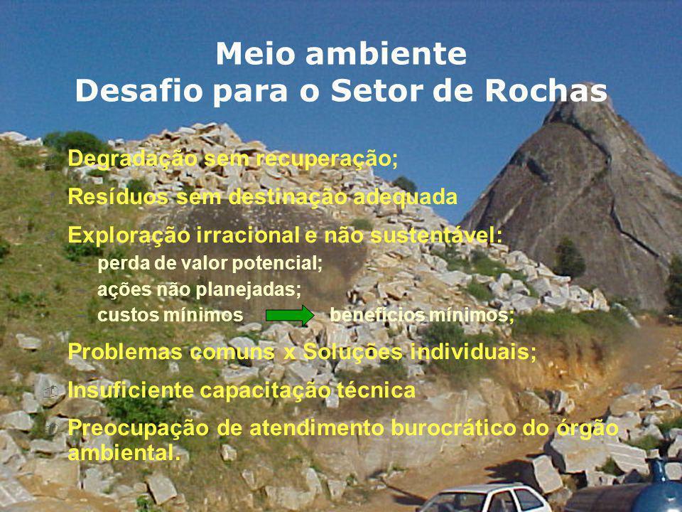 EXTRAÇÃO DE ROCHAS ORNAMENTAIS