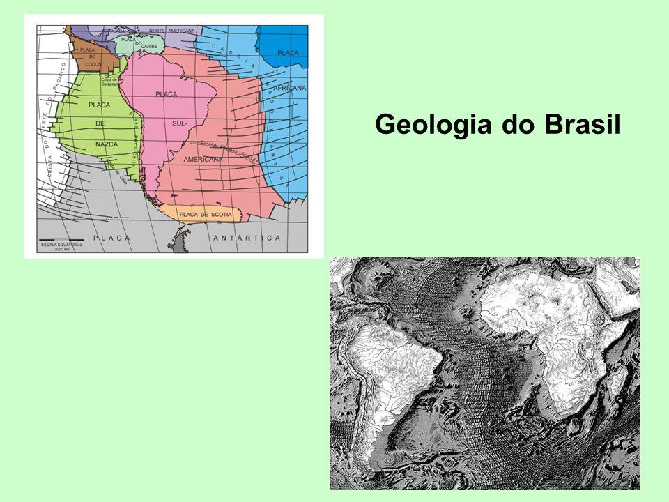 Geodiversidade brasileira 1:2.500.000 lançado em 2006 Carta Geológica do Brasil 1:1.000.000 lançado em 2004