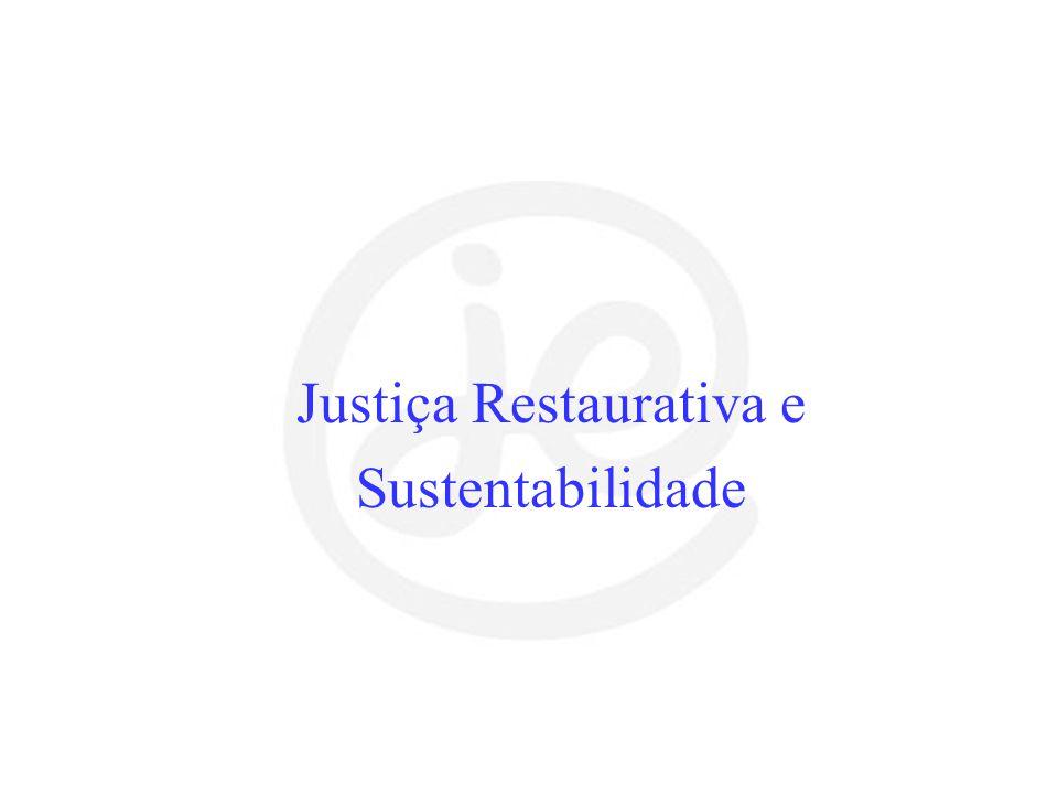 Justiça Restaurativa e Sustentabilidade