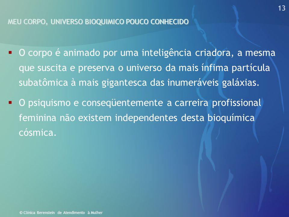 12 © Clínica Berenstein de Atendimento à Mulher O dimorfismo cerebral explica porque as mulheres tantas vezes nos surpreendem ao interpretar atitudes