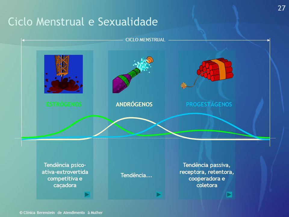 26 © Clínica Berenstein de Atendimento à Mulher A Vida Menstrual Nos Séculos Passados No Século XXI MENSTRUAÇÃO, GRAVIDEZ, AMAMENTAÇÃO 181712112124273