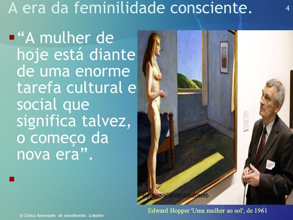 3 © Clínica Berenstein de Atendimento à Mulher Tudo começa, e termina nas pessoas, e pessoas são em parte seus hormônios. Michel Lebouf, PhD  Como