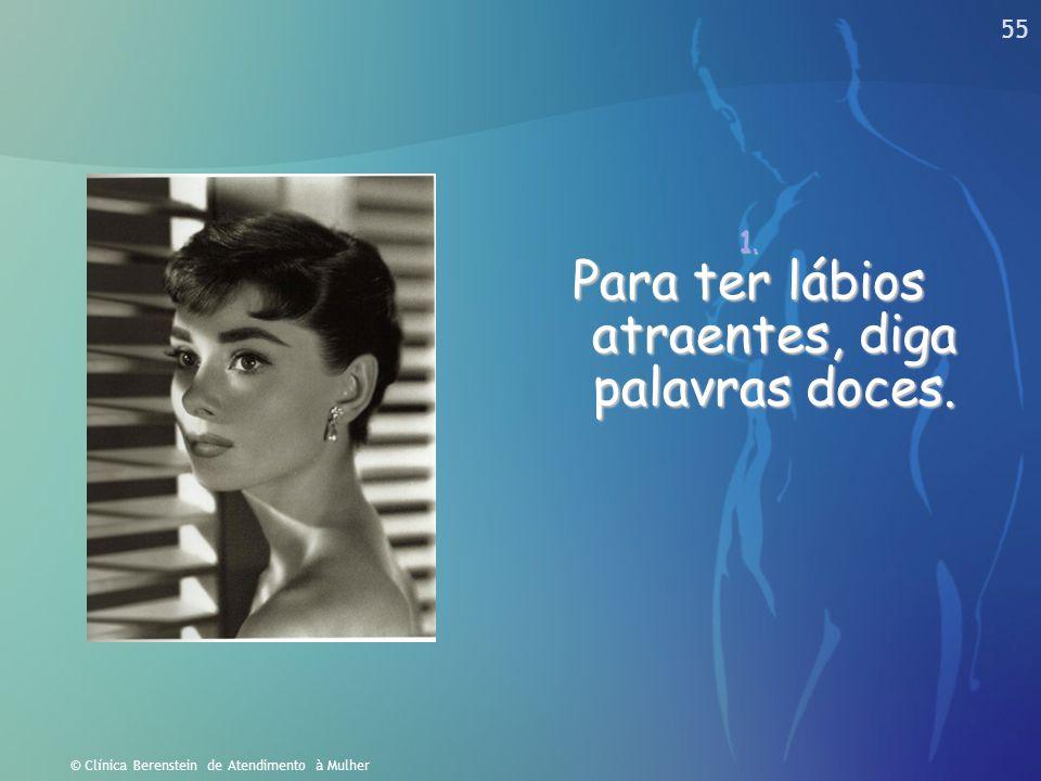 © Clínica Berenstein de Atendimento à Mulher As Moléstias Peri Menstruais e a saúde ocupacional feminina Eliezer Berenstein