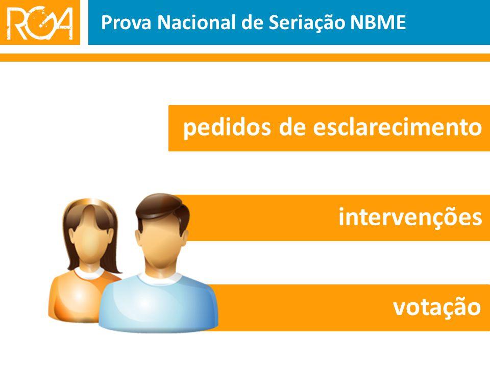 pedidos de esclarecimento intervenções votação