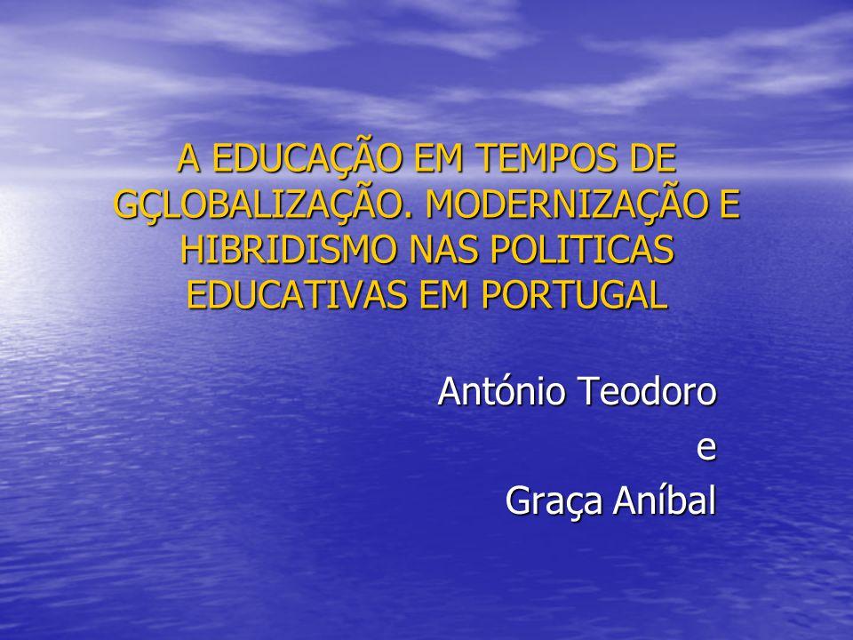 A EDUCAÇÃO EM TEMPOS DE GÇLOBALIZAÇÃO.