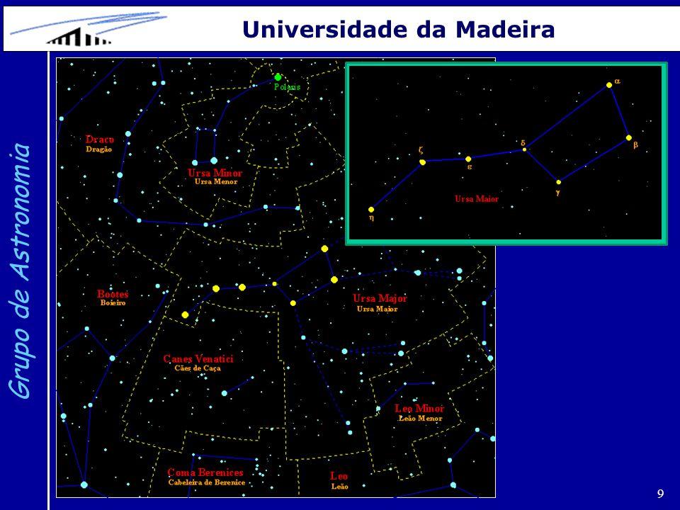 10 Grupo de Astronomia Universidade da Madeira Andrómeda (c) Grupo de Astronomia da Universidade da Madeira 2012