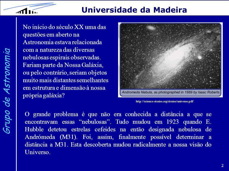 33 Grupo de Astronomia Universidade da Madeira http://ned.ipac.caltech.edu/level5/March03/Ferrari/Ferrari2_2.html