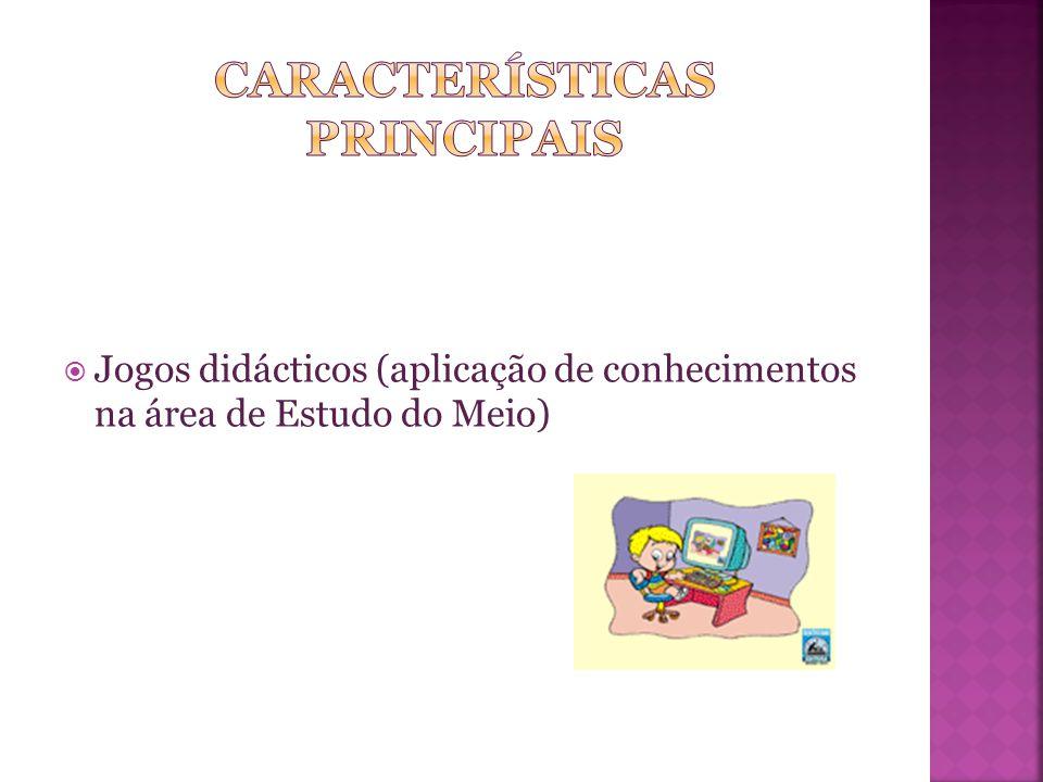  Jogos didácticos (aplicação de conhecimentos na área de Estudo do Meio)