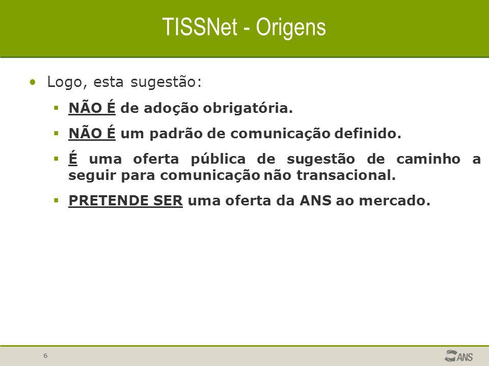 27 TISSNet - Implementação ClienteFuncional e Servidor são os objetos que oferecem acesso programático à aplicação.