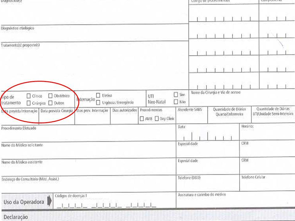 Oficinas TISS - 200626 Guias de Consulta Dados do beneficiário Dados do atendimento Dados do executante Hipóteses diagnósticas Tipo de saída Tipo de consulta Primeira consulta Seguimento Pré-natal Referência Dados do contratado