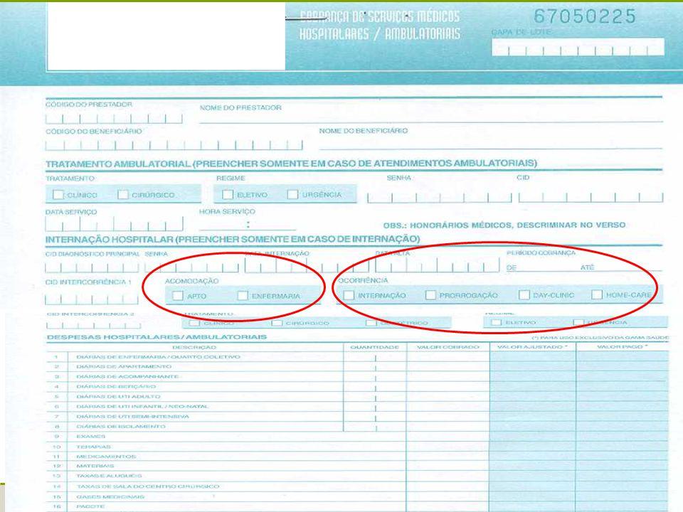Oficinas TISS - 200630 Guias de Honorário Individual Dados do beneficiário Serviços realizados Dados do prestador executante Dados do contratado executante Dados do contratado (onde foi executado o procedimento)