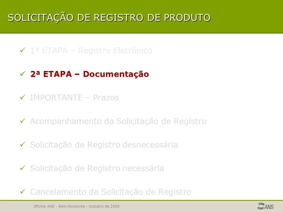 Oficina ANS - Belo Horizonte - Outubro de 2006 ENVIO DO ARQUIVO  RELATÓRIO DE PLANOS ENVIADOS  VERIFICAÇÃO DE INCORPORAÇÃO DE DADOS  RELATÓRIO DE ERROS E AVISOS  COMPROVANTE DE INCORPORAÇÃO