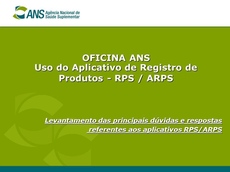 Oficina ANS - Belo Horizonte - Outubro de 2006 Interrupção de análise