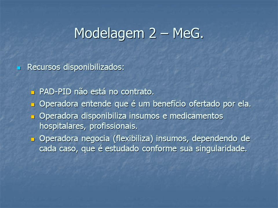 Modelagem 2 – MeG.