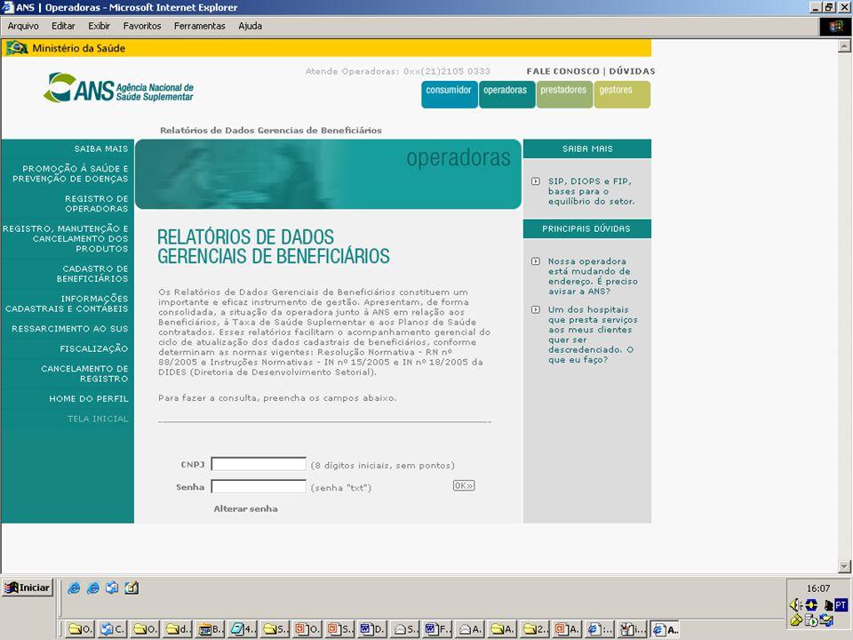 36 Beneficiários Informados ao Cadastro, à TSS e Valor Recolhido
