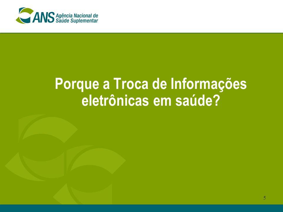 5 Porque a Troca de Informações eletrônicas em saúde?