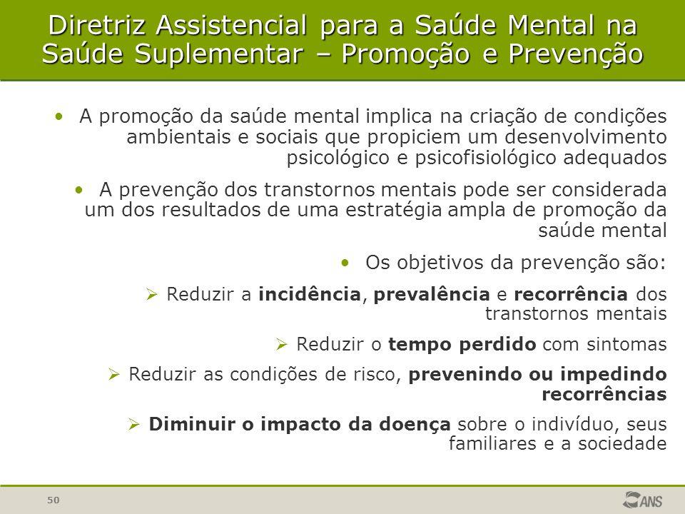 50 A promoção da saúde mental implica na criação de condições ambientais e sociais que propiciem um desenvolvimento psicológico e psicofisiológico ade