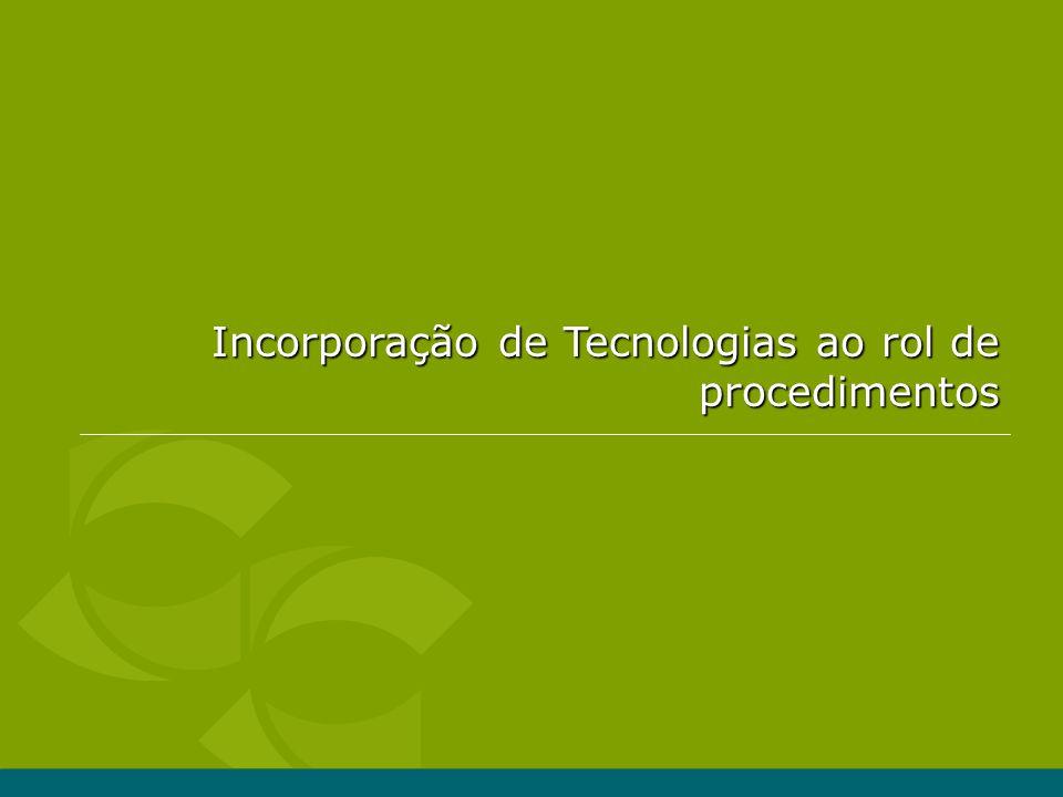 10 1.Tecnologia com registro na ANVISA.2.Tecnologia consta da Tabela da CBHPM.