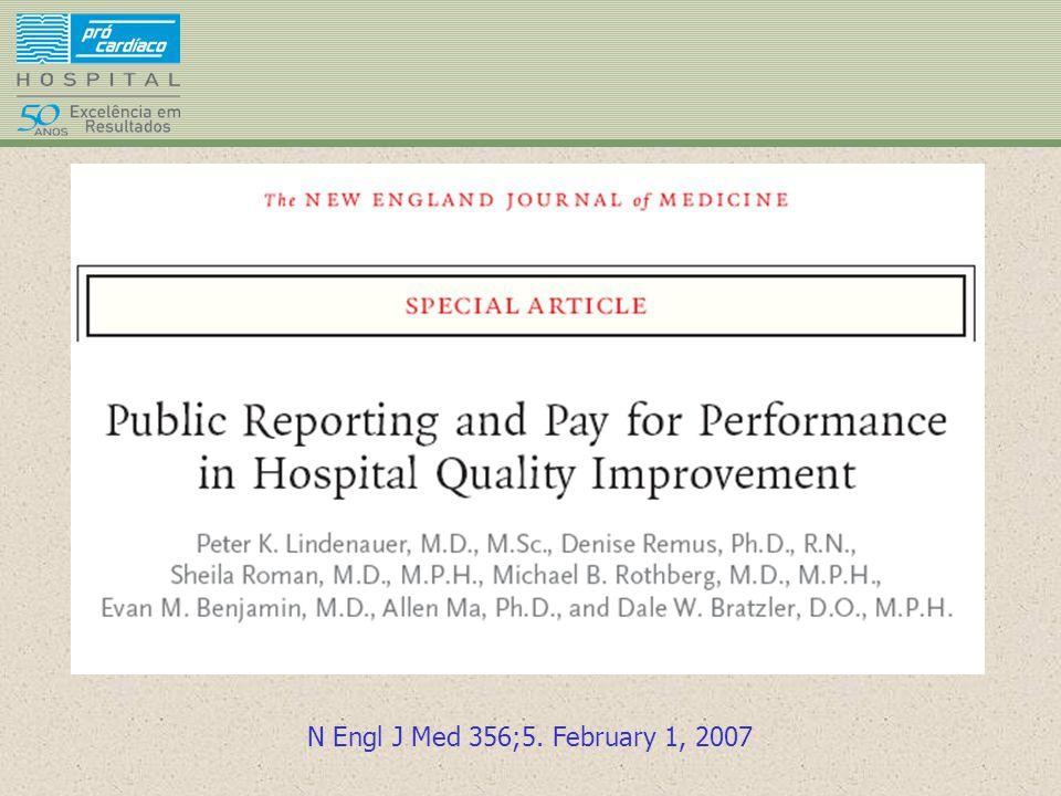 N Engl J Med 356;5. February 1, 2007