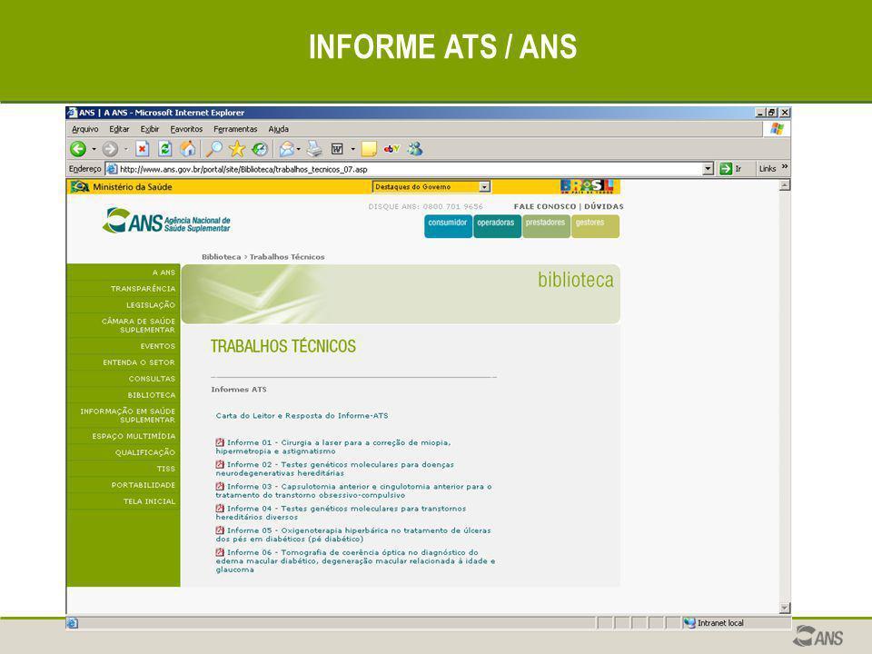 INFORME ATS / ANS
