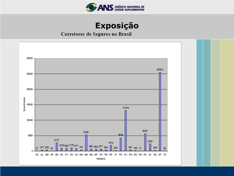 Corretores de Seguros no Brasil Exposição