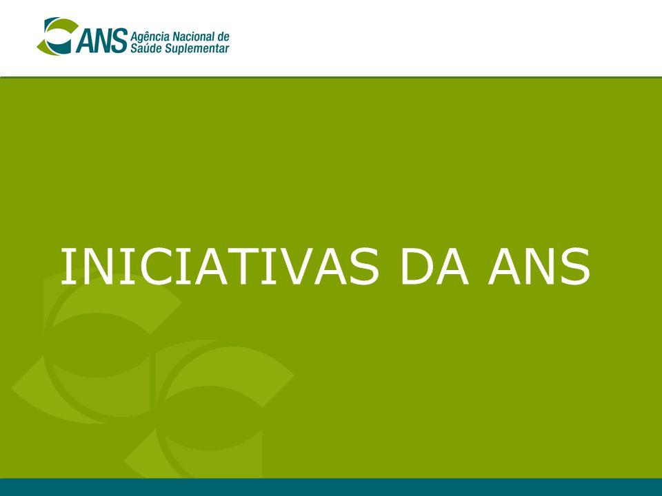 9 Iniciativas da ANS  Revisão do Regimento Interno da ANS Criação da Gerência de Avaliação de Tecnologia em Saúde – GEATS/DIDES (Dezembro/2005) GGTAP/DIPRO – Cobertura/Rol de Procedimentos - Incorporação e monitoramento da utilização das tecnologias  Revisão dos Róis de Procedimentos da ANS (Ações em Saúde e Odontológico) – inclusão de novos procedimentos apenas com comprovada eficácia e com critérios pré-definidos.